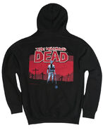 "THE WALKING DEAD ""GRAVE DIGGER"" BLACK HOODIE"