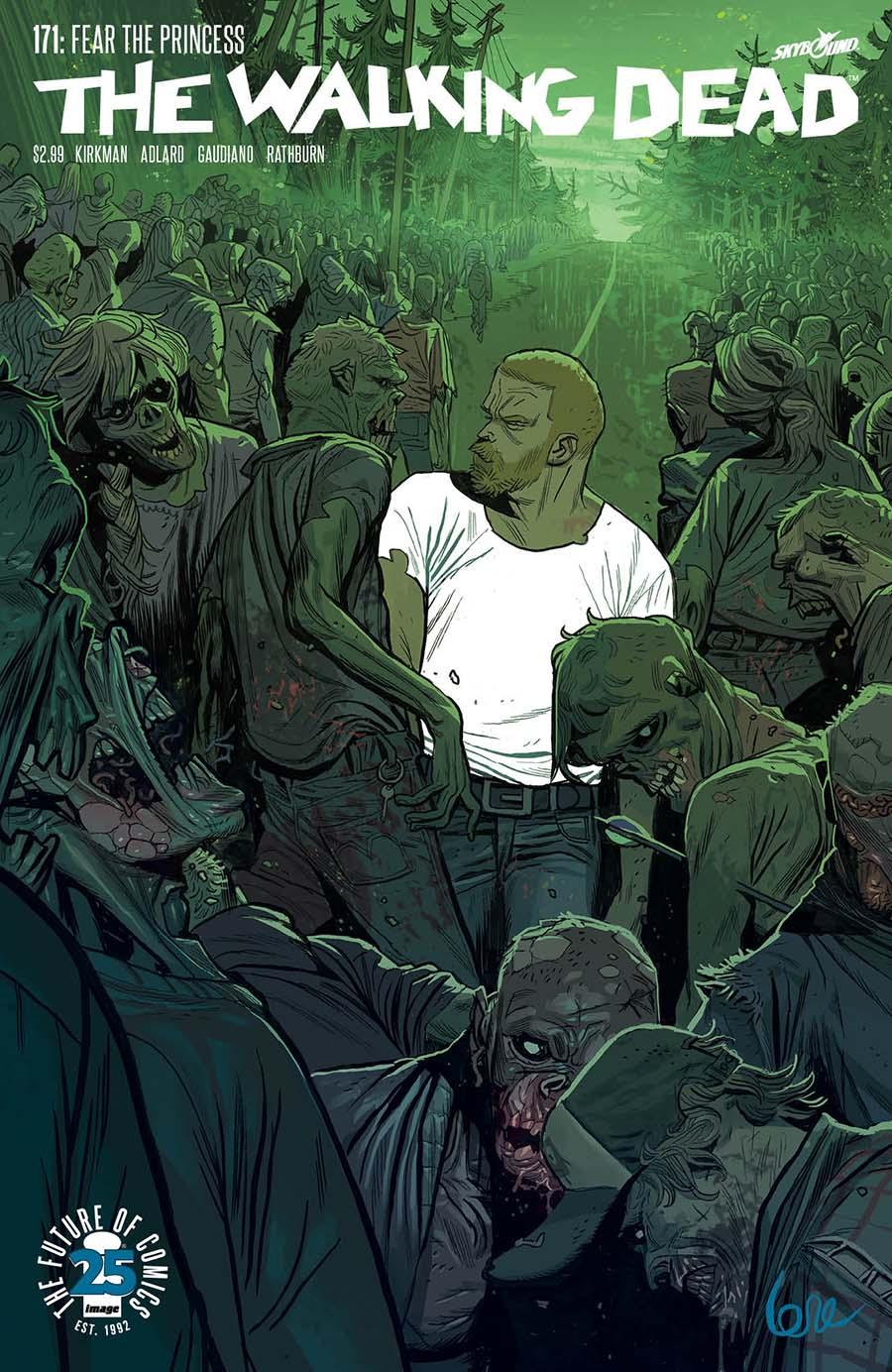 The Walking Dead #164 Image Comics CB14161