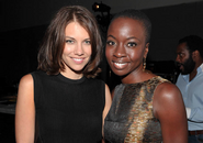 Cohan and Gurira SDCC 13