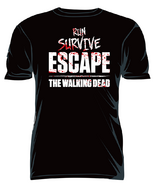 "THE WALKING DEAD ""RUN SURVIVE ESCAPE"" T-SHIRT"