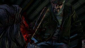 Carvers Death TWD S2 E3