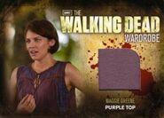 M23 Maggie Greene Purple Top