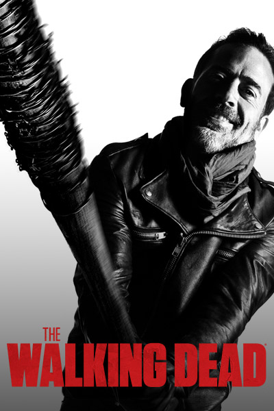 The Walking Dead Season 7 Negan Morgan Key Art 400x600