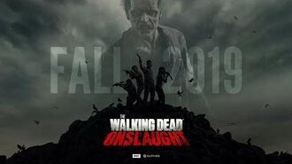 The Walking Dead Onslaught Official Announcement Teaser Trailer