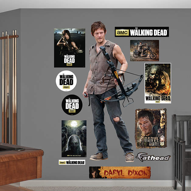Daryl Dixon Fathead Wall Decal 2