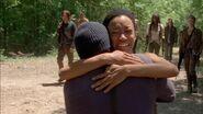 Sasha and Tyreese reunite