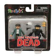 Walking Dead Minimates Series 5 Maggie and Riot Gear Glenn 2-pk