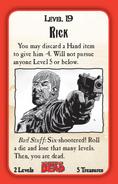 Munchkin Zombies- The Walking Dead Rick card