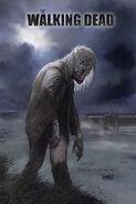 San Diego Comic-Con 2012 - The Walking Dead Season 3 Illustrated Poster