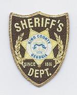 150px-Kings County Georgia Sheriff Sleeve Patch