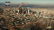 Los Angeles burning