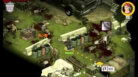 AMC's The Walking Dead Social Game Mission 27 Walkthrough