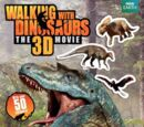 Walking with Dinosaurs 3D: A Reusable Sticker Book