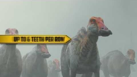 Dino Files Toothy Edmontosaurus Walking With Dinosaurs