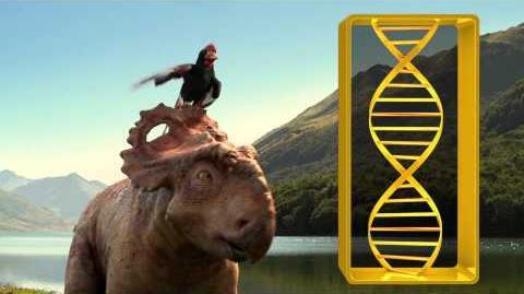 Dino Files Alexornis Walking With Dinosaurs