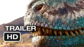 Walking With Dinosaurs 3D Official Trailer 1 (2013) - CGI Movie HD