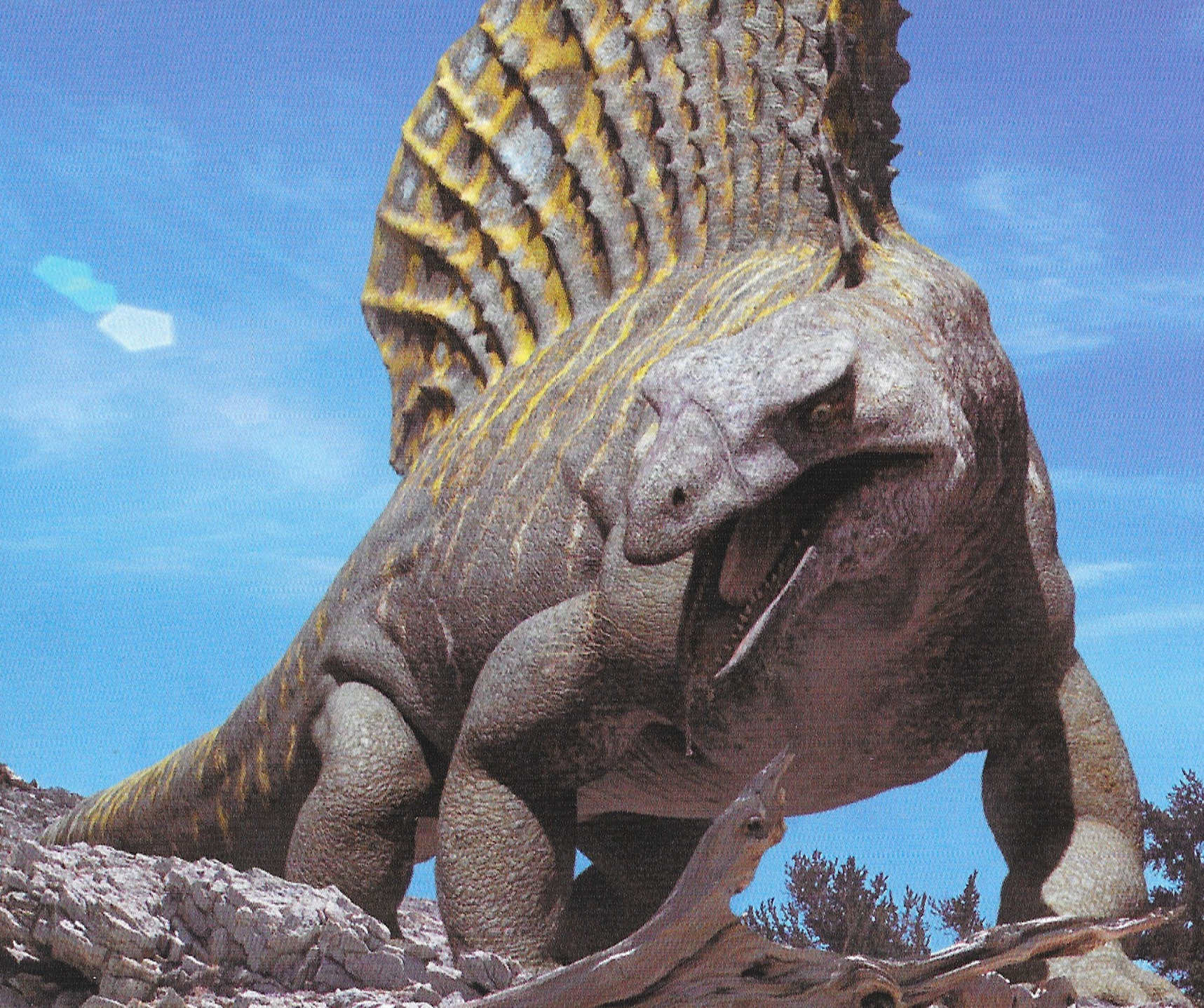 edaphosaurus walking with wikis fandom powered by wikia