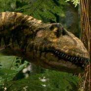Polar allosaurus