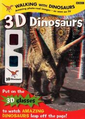 WWD 3D Dinosaur Book