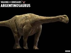 Argentinosaurus wwd