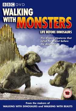 Walking with Monsters BRITISH cover