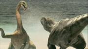 Therizinosaurus dodges, The Giant Claw