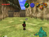 Cucco Round-Up in Kakariko Village in Ocarina of Time