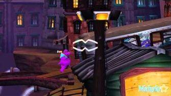Sly Cooper and the Thievius Raccoonus Walkthrough - World 2 - Murray's Big Gamble - Platinum