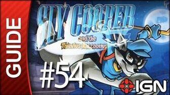 Sly Cooper Thievius Raccoonus Walkthrough - 54 Episode 5 Part 7 A Strange Reunion (Boss Fight)