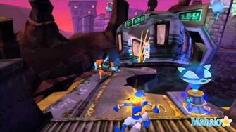 Sly Cooper and the Thievius Raccoonus Walkthrough - World 2 - A Rocky Start - Platinum