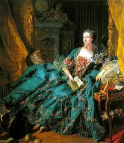 522px-Boucher Marquise de Pompadour 1756