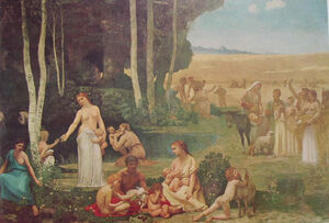 1 Pierre Puvis de Chavennes - L'estate
