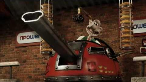 New Wallace and Gromit npower TV advert - Hand of Dog!