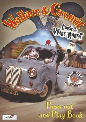 Were-Rabbit Press Out and Play Book
