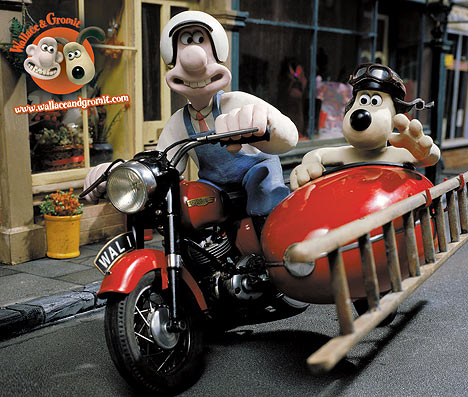 Motorbike and Sidecar | Wallace and Gromit Wiki | FANDOM