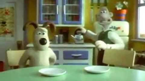 Glico Pucchin Pudding - Wallace & Gromit (2000, Japan)