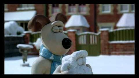 Wallace and Gromit -snowmanatron
