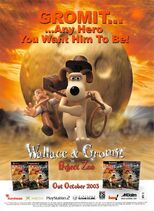 Wallace & Gromit in Project Zoo Magazine Ad