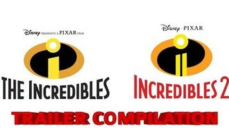 The Incredibles And The Incredibles 2 Trailer Compilation
