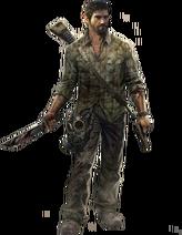 Joel the last of us render by elemental aura-d6buxhd