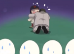 Sunako dad hugs sunako