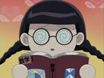 Sunako chibi bookworm