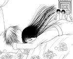 Sunako hugs kyohei