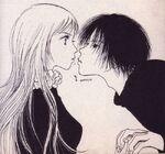Noi and takenaga in the manga