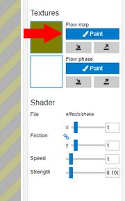 Tutorial breathing paint flow map