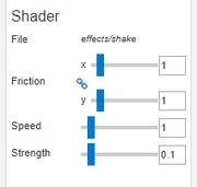 Tutorial breathing shake options