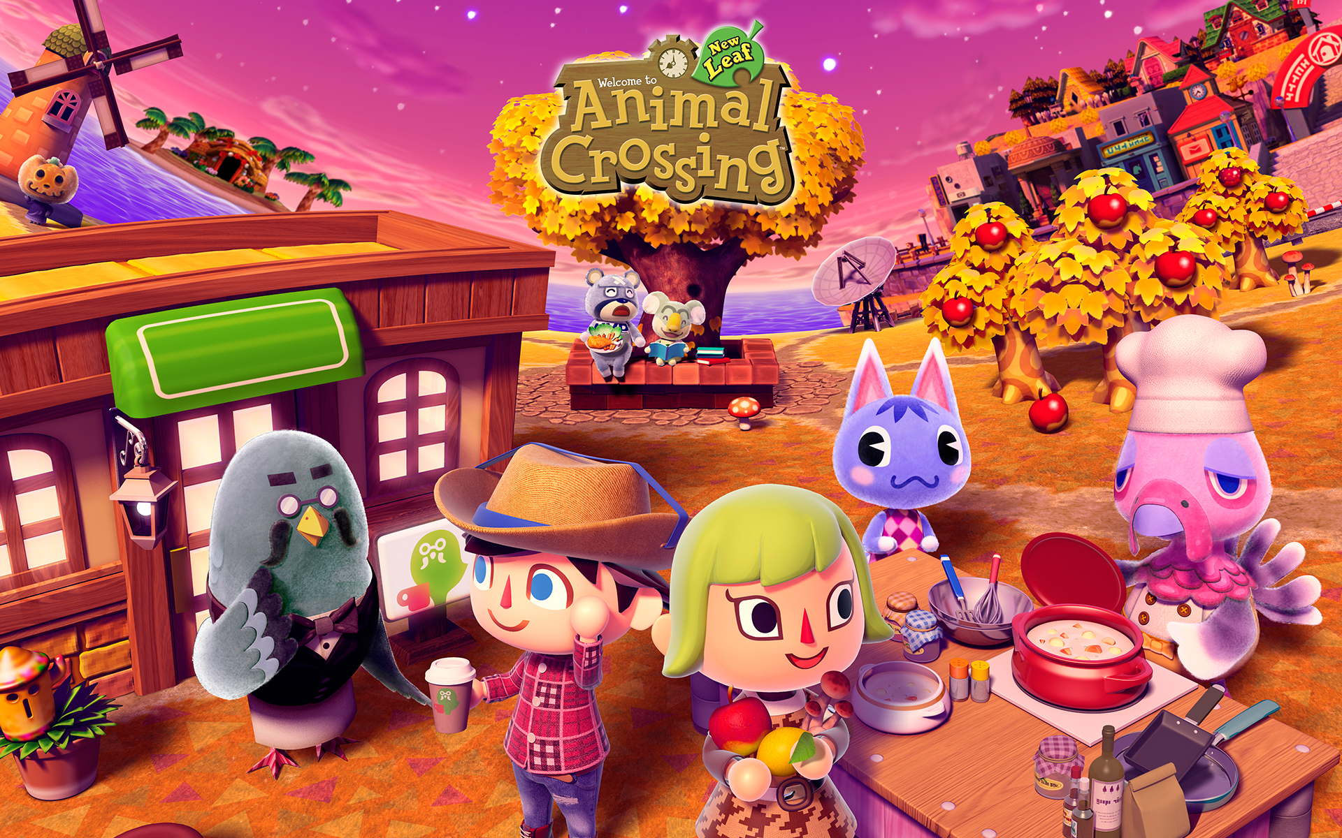 image - animalcrossing wallpaper 1920x1200-c | wallpapers wiki