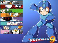 Rockman 9 WP Rock by RockmanCXDEZZR