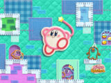Kirby's Epic Yarn Wallpaper