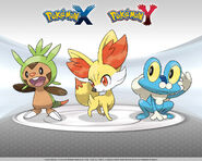 Chespin-Fennekin-Froakie-X-and-Y 1280x1024